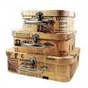 Set De 3 Cutii Pentru Depozitarea Bijuteriilor OLDIE WZ787