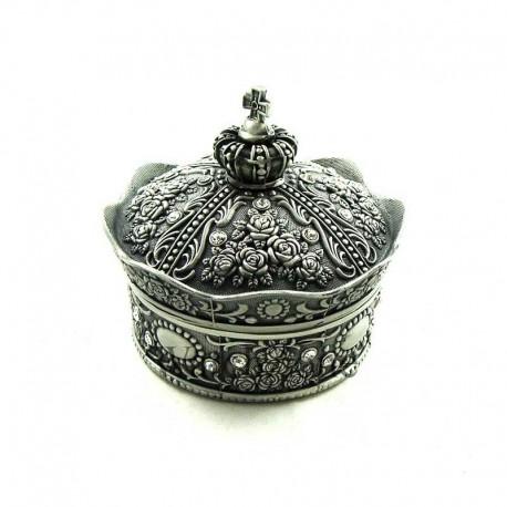 Caseta bijuterii metalica King's Crown WZ1669