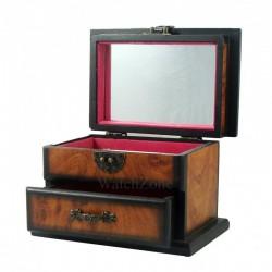 Cutie bijuterii lemn antique Sweet Rose 50433