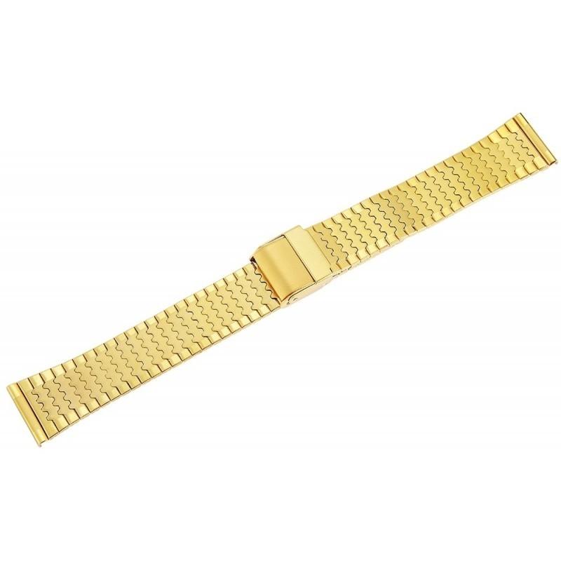 Bratara Ceas Otel Inoxidabil Auriu 18mm 70010048