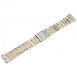 Bratara Ceas Otel Inoxidabil Bicolora Argintiu - Auriu 18mm 70010056