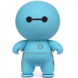 Boxa Bluetooth iUni DF13, 3W, USB, TF CARD, AUX-IN, Leduri, Portabila, Albastru