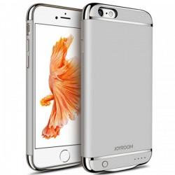 Husa Baterie Ultraslim iPhone 6/6s, iUni Joyroom 2500mAh, Silver