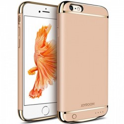Husa Baterie Ultraslim iPhone 6 Plus/6s Plus, iUni Joyroom 3500mAh, Gold