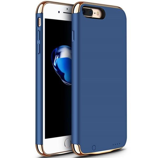 Husa Baterie Ultraslim iPhone 7, iUni Joyroom 2500mAh, Blue