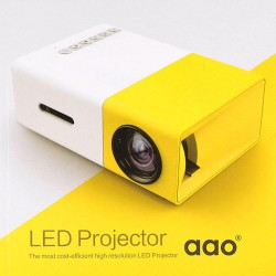 Videoproiector LED mini portabil YG300 400-600 LM 1080P Full Hd