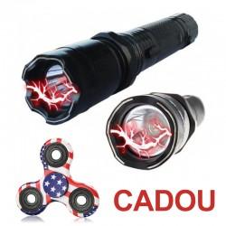 Pachet PROMO - Comanda o Lanterna Electroshoc si Primesti un Fidget Spinner GRATIS