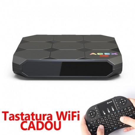 Pachet Complet Minipc A95x 2gb Ram + Tastatura Wireless, Transforma-ti Televizorul Intr-un Smarttv