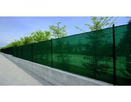 Plasa verde umbrire pentru gard 1 x 9 M, foarte rezistenta