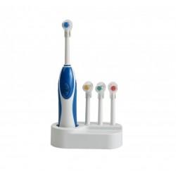 Periuta de dinti electrica cu 4 capete rotative si design inovator