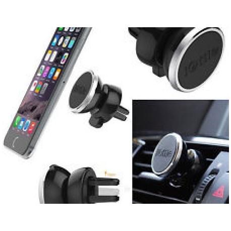 Suport magnetic telefon cu montaj pe ventilatia masinii