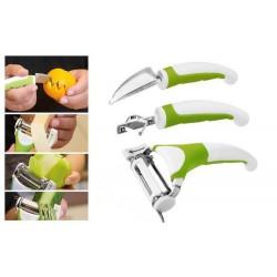 Set curatat legume Triple Slicer