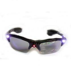 Ochelari cu protectie UV 400 si 3 LED-uri pentru iluminat