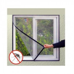 Set 2 perdele anti insecte pentru fereastra