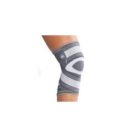 Orteza de genunchi elastica fabricata din material textil