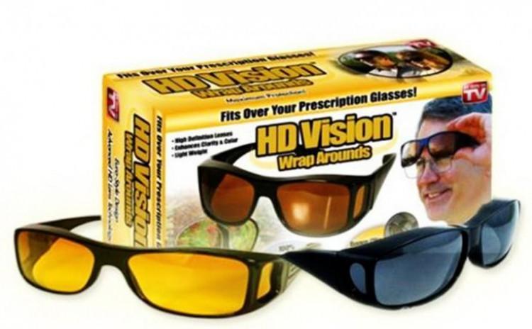 Set 2 perechi ochelari de zi si de noapte HD Vision ! imagine techstar.ro 2021