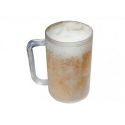 Set 2 halbe de frigider pentru o bere rece