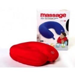 Relaxeaza-te dupa o zi grea: Perna de masaj cu vibratii pentru gat si umeri!