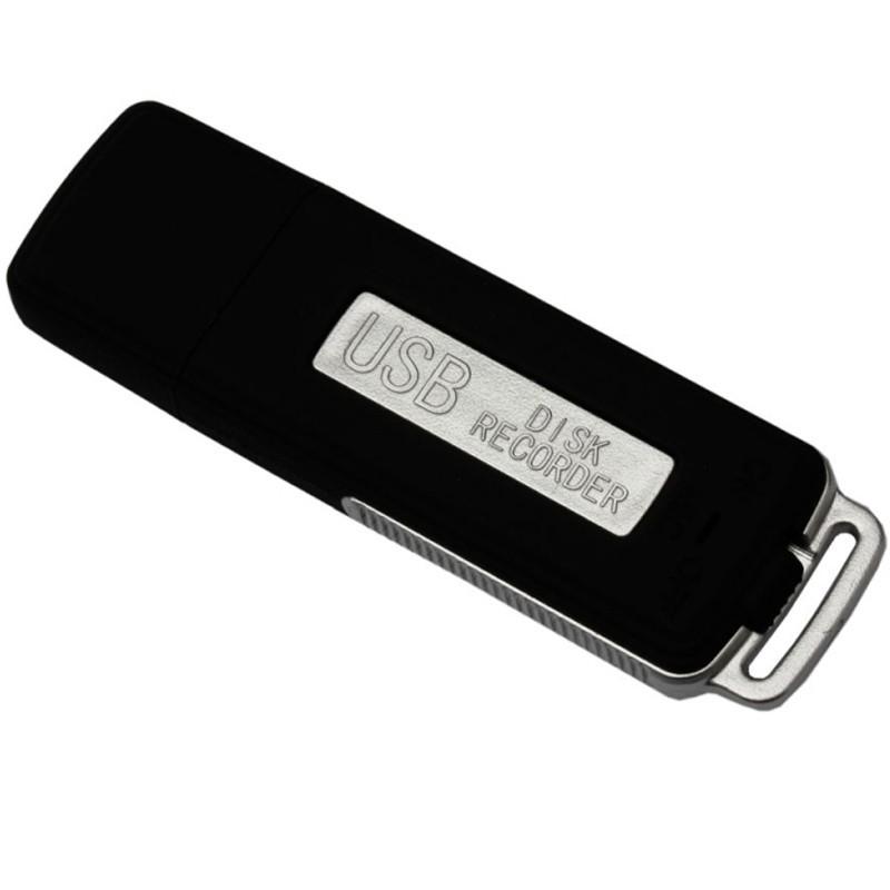 Stick USB Spion Reportofon iUni SpyMic STK98, Memorie interna 8GB