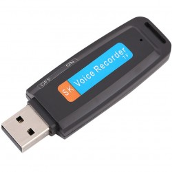 Stick USB Spion Reportofon iUni SpyMic STK99, Negru