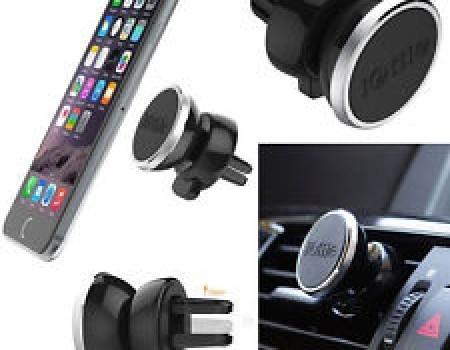 Suport de telefon magnetic pentru ventilatia masinii imagine techstar.ro 2021