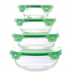 Set 5 caserole din sticla Cooking Bowl
