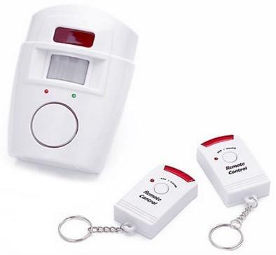 Alarma wireless cu 2 Telecomenzi + senzor miscare imagine techstar.ro 2021