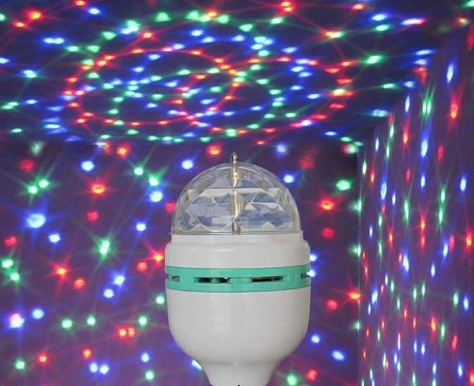 Bec Rotativ Multicolor cu LED imagine techstar.ro 2021