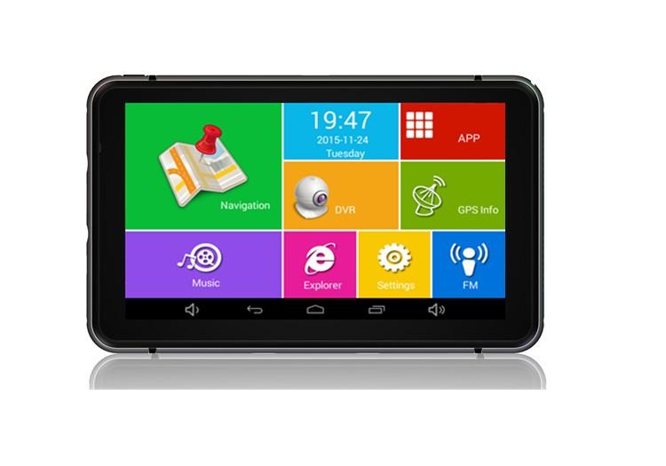 GPS Auto Techstar M6X Android 512 Ram 7 Inchi