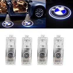 Set 2 Bucati Emblema Logo LED Portiera dedicata Marca Auto BMW