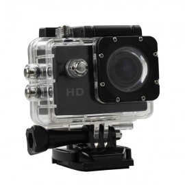 Camera Sport S5000 Ecran 2 inch Subacvatica FullHD 1080P 12MPx Black EXSports