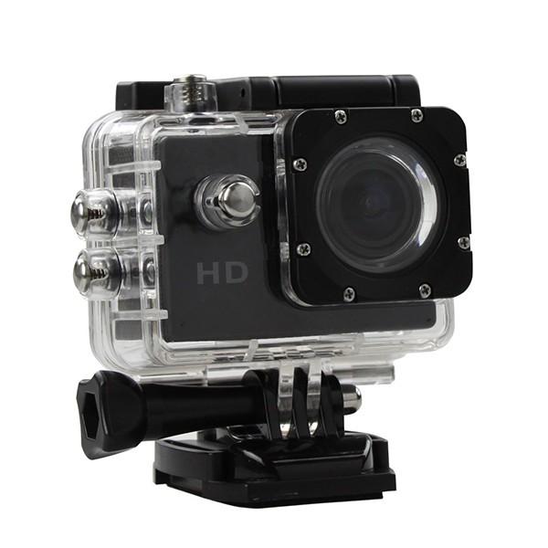 Camera Sport S5000 Ecran 2 inch Subacvatica FullHD 1080P 12MPx Black EXSports poza 2021