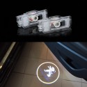 Set 2 Bucati Emblema Logo LED Portiera dedicata Marca