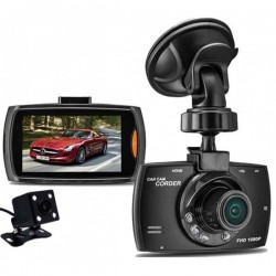 Camera auto DVR iUni Dash G30, Double Cam, Display 2.7 inch IPS, Full HD, Night Vision, Senzor G