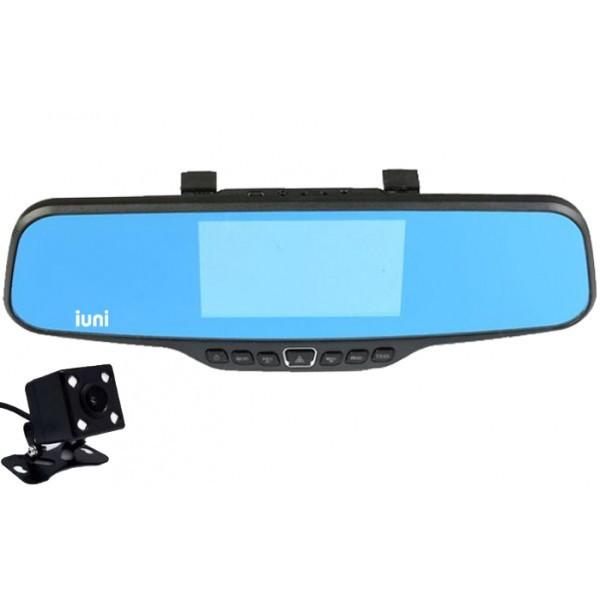 Camera Auto iUni Dash 811 Oglinda, Dual Cam, Full HD, Night Vision, Foto, Playback, Senzor G imagine techstar.ro 2021