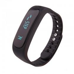Bratara Fitness Smartband Bluetooth E02 negru