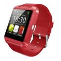 Smartwatch U-Watch Bluetooth U8 Rosu