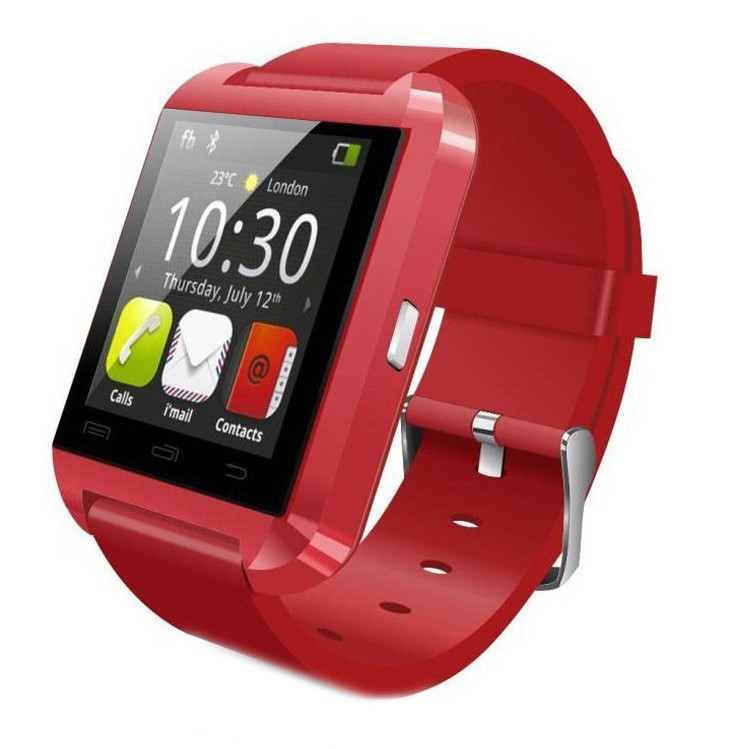 Smartwatch U-Watch Bluetooth U8 Rosu poza 2021