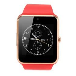 Smartwatch U-Watch GT08 Bluetooth Rosu Compatibil SIM, MicroSD