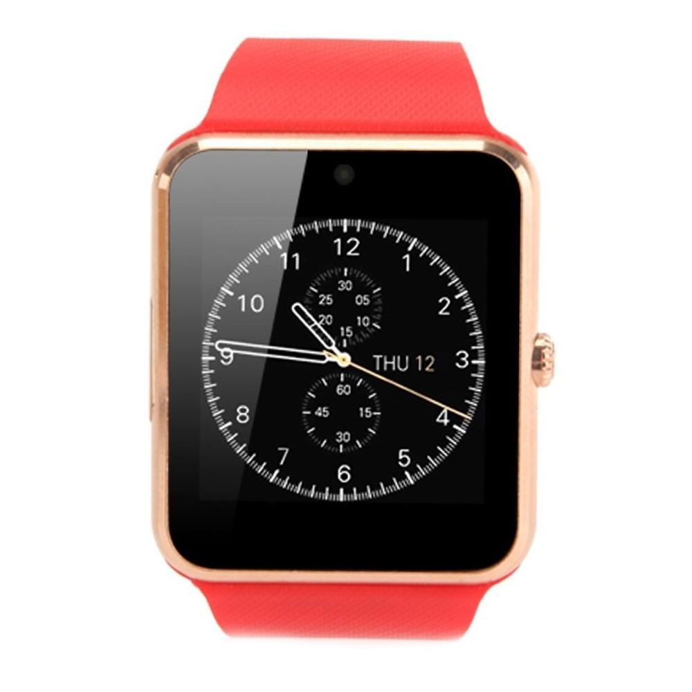 Smartwatch U-Watch GT08 Bluetooth Rosu Compatibil SIM, MicroSD poza 2021