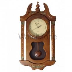 Ceas perete cu pendula din lemn Circle Moon TX-2505