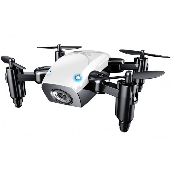Mini Drona iUni S9, WiFi, Frecventa 2.4GHz, Alb imagine techstar.ro 2021