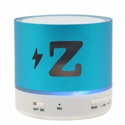 Boxa Portabila Bluetooth iUni DF15, 3W, USB, Slot Card, AUX-IN, Radio, Aluminiu, Albastru