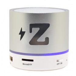 Boxa Portabila Bluetooth iUni DF15, 3W, USB, Slot Card, AUX-IN, Radio, Aluminiu, Argintiu