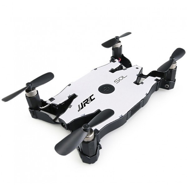 Drona iUni H49, Brate Pliabile, WiFi, Transmisie Live pe Telefon, Alb