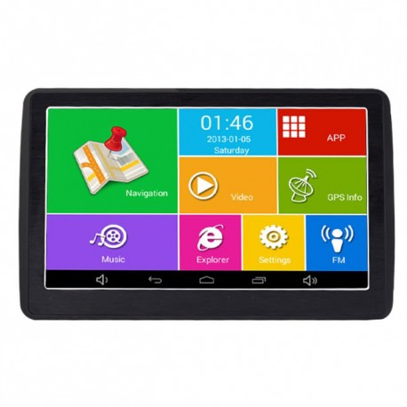"GPS Auto Techstar M9X cu Android Tableta 512RAM Display 7"" Actualizat 2018"