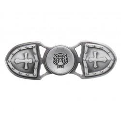 Fidget Spinner Techstar® cu design Vintage Armura Gold din material Aluminiu de cea mai buna calitate