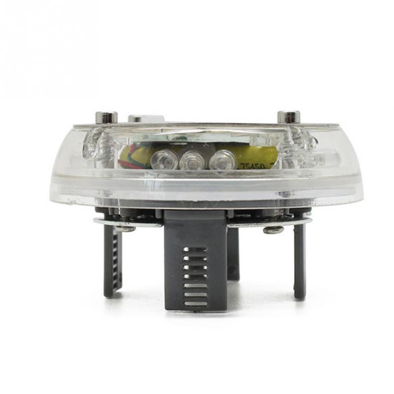 Capac Jante Auto LED Multicolor cu Incarcare Energie Solara Tuning imagine techstar.ro 2021