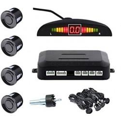 Set Senzori parcare auto detector parktronic display radar monitor 4 senzori