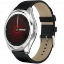 Ceas Smartwatch iUni N3 Plus, Curea Piele, BT, 1.3 In